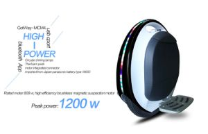67.2V Fastest 14inch Self Balancing Gotway Mcm4-HS Electric Unicycle Factory Price pictures & photos