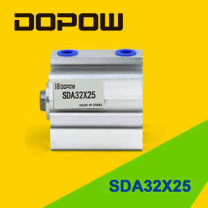 Dopow Sda32-25 Compact Pneumatic Cylinder pictures & photos