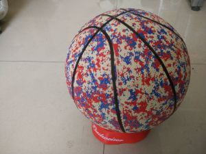 7# Rubber Foam Sport Basketball pictures & photos