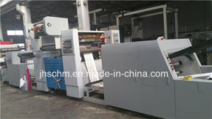 Two Colors Film/Paper/OPP/PE/PP /PVC Stamping Machine pictures & photos