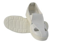 4-Holes ESD/Anti-Static Cloth-Shoes for Cleanroom Use pictures & photos