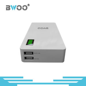 Bwoo Big 8800mAh Capacity Dual USB Portable Power Bank with Display pictures & photos