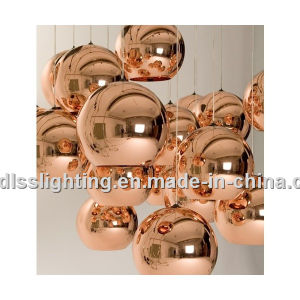 Replica Copper Shade and Mirror Ball Glass Pendant Lamp pictures & photos