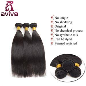 100% Virgin Natural Brazilian Human Hair (AV-HE016) pictures & photos