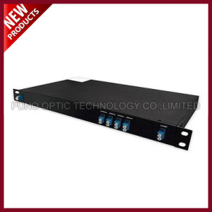 5 Channels LC UPC 1350-1430nm Dual Fiber CWDM OADM Multiplexer LGX Module pictures & photos