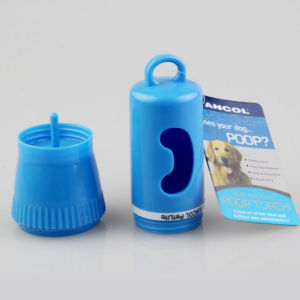 Dog Pet Poop Walking Flashlight with Plastic Bag pictures & photos