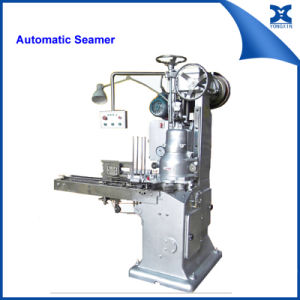 Automatic Vacuum Can Sealer Tin Can packaging Machine  pictures & photos