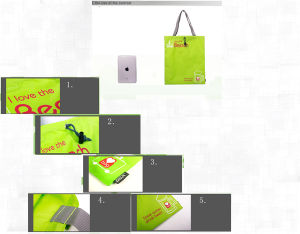 Personalized Promotional Sport Drawstring Gym Puch Handbags (72) pictures & photos