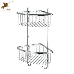 Modern Stainless Steel Shower Storage Basket for Bathroom (8811) pictures & photos