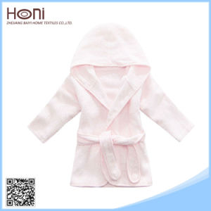 D-047 Stylish Plain Woven Baby Terry Cheap Bathrobe