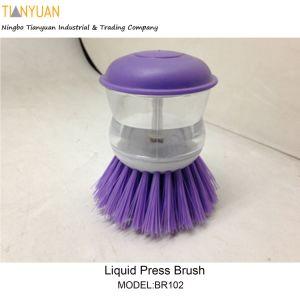 Liquid Press Brush, Dish Brush
