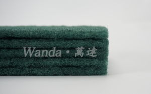 Wholesales Household Cleaning Products Green Abrasive Scouring Pad Scour Pad pictures & photos