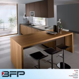 L Shape Kitchen Furniture Customized Kitchen Cabinets pictures & photos