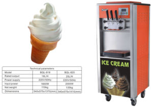 Hot Sale Cheap Price Soft Ice Cream Machine pictures & photos