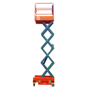 3.8m Mobile Mini Scissor Lift for Indoor Maintenance and Installation pictures & photos