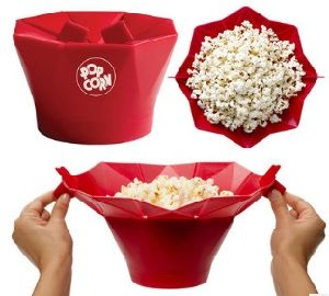 Foldable Silicone Microwave Popcorn Popper Maker pictures & photos