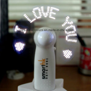 Valentine′s Day Gift LED Handheld Mini Fan (3509) pictures & photos