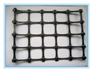 Polypropylene Biaxial Geogrid for Road pictures & photos