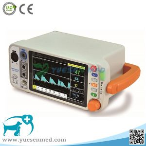 Yspm200V Hospital Vet Clinic Hot Sale Medical Animal Patient Monitor pictures & photos