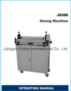 Hot Sale Popular Gluing Binding Machine Js500 pictures & photos