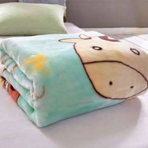 Micro Soft Plush Flannel Fleece Stroller Baby Blanket for Sleeping pictures & photos