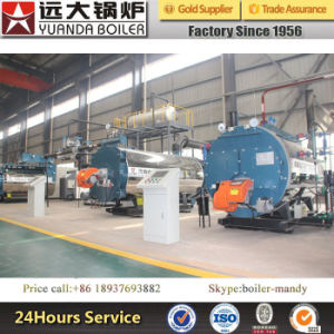 0.3ton-20ton Natural Gas LPG LNG Biogas Diesel Heavy Oil Fired Steam Boilers pictures & photos