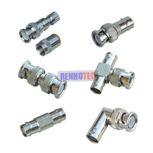 RF Coax BNC Female Male Connectors for CCTV pictures & photos