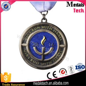 2017 Souvenir Custom Metal Campaign Medal with Ribbon pictures & photos