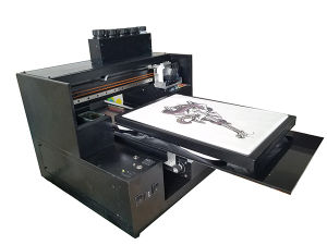 A3 UV Flatbed Printer for T-Shirt Garments Printing Automatic UV Printers pictures & photos