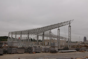 Steel Structure Grid Structural for Commercial Steel Roofing pictures & photos