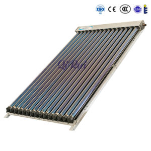 Heat Pipe Vacuum Tube Solar Thermal Collector with Solar Keymark En12975 pictures & photos