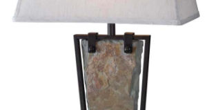 Slate Table Lamp for Indoor with UL Certificate pictures & photos