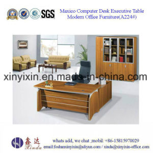 Italian Wooden Furniture Modern Office Executive Table (BF-003#) pictures & photos