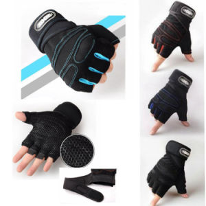 Half Finger Workout Training Gloves Custom Weight Lifting Gloves pictures & photos