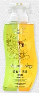 New Patent Design Honey Moisturizing Shower Gel pictures & photos