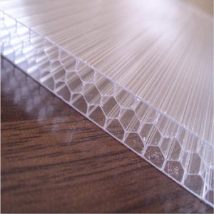 12mm Lowes Sound Proof Honeycomb Polycarbonate Panel Plastic pictures & photos