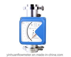 Hoop Collar Type Metal Tube Float Variable Area Flowmeter pictures & photos