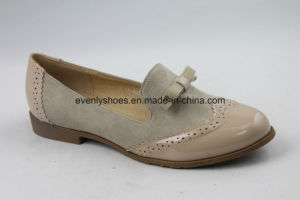 Women Casual Oxford Fashion Shoes with Bowknot pictures & photos