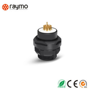 S103 Series Striaght Circular Push Pull Connector with Communication Cable Assembly pictures & photos