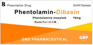 Phentolamine Mesylate for Injection GMP Factory Regitine Dibasin Chemical Pharmaceutical pictures & photos