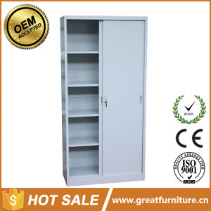Steel Office Furniture Metal Storage Cabinet Sliding Door Steel File Cabinet pictures & photos