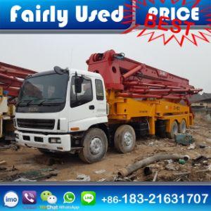 Used Sany Isuzu Concrete Pump Truck Rhd for Sale