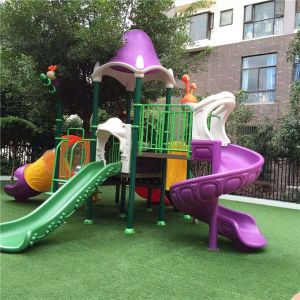 Amusement Park Slide Outdoor Gym Equipment Plastic Playground Manufacturer pictures & photos