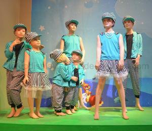 Wear Makeup Children Mannequin for Window Display