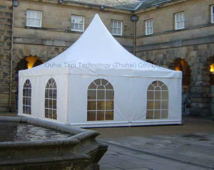 5m X 5m Pagoda Tent for Garden Shade and Gathering pictures & photos