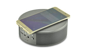 Wireless Bluetooth Speaker with FM Radio Function LED Screen and Wireless Charging