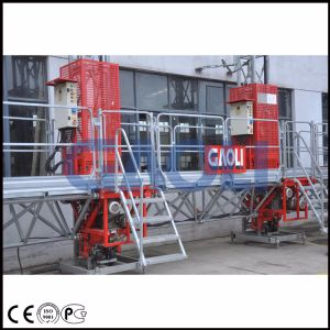 Double Mast Climbing Work Platform for Construction Usage pictures & photos