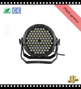 IP65 Waterproof High Brighness LED PAR Can Lights Outdoor Stage Lighting 84 * 3W Rgbwy+UV 6-In1 pictures & photos