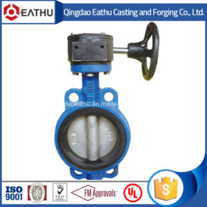 BS En 593 Cast Iron Flanged Butterfly Valve Pn10 / Pn16 pictures & photos