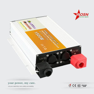 Wosn Dm-1500W 12V/24V/48V off Grid DC to AC Modified Sine Wave Power Inverter pictures & photos